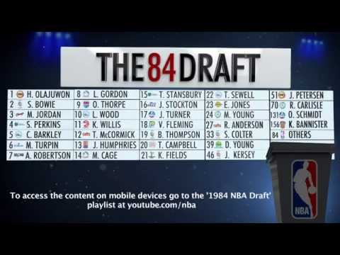 30th Anniversary of the 1984 Draft- NBA's Interactive 1984 Draft Board