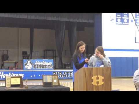 Welcome Home Hankinson High School Volleyball Girls 11-23-2