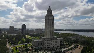 Downtown Baton Rouge from Above
