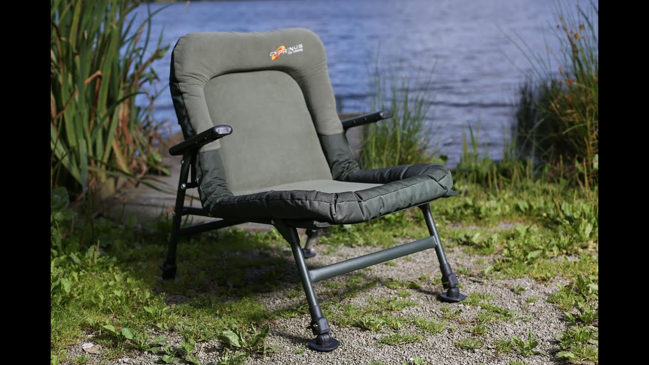 fishing chair setup gaming with speakers carpology tv cyprinus chairs youtube
