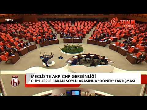 Meclis'te AKP-CHP gerginliği