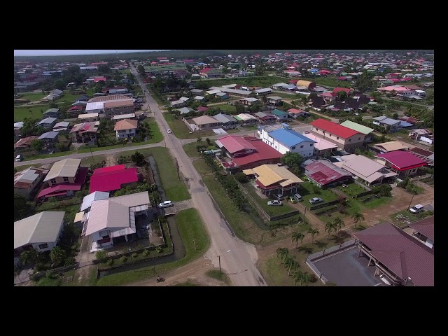 Aerial Shots Suriname New Nickerie