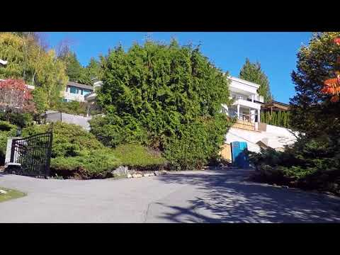Driving in West Vancouver BC Canada - British Properties - Luxury Homes/Houses/Property