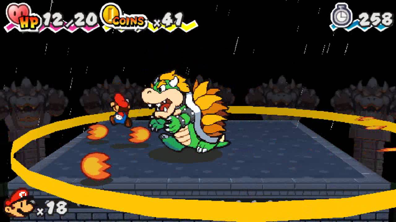 Paper Mario 3d Land Part 8 Finale Final Boss And Credits Youtube