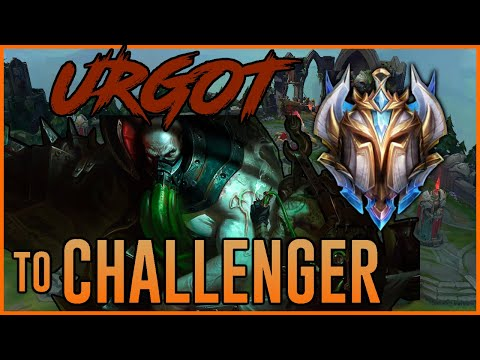 CHALLENGER URGOT - HIGHWAY to CHALLENGER - Ep. 32 - League of Legends Full Game Commentary thumbnail