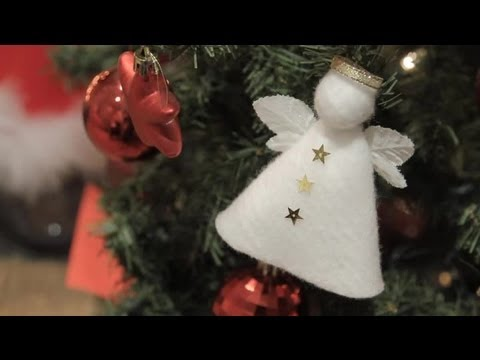 How To Make An Angel Decorate Your Christmas Tree Crafts For The Whole Family