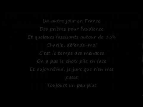 Noir Désir - Un Jour En France (Lyrics)