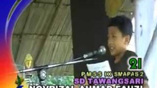 Novrizal Ahmad Fauzi dina Pasanggiri Maca Sajak Sunda IX-Teater Kappas SMA Pasundan 2 Tasikmalaya