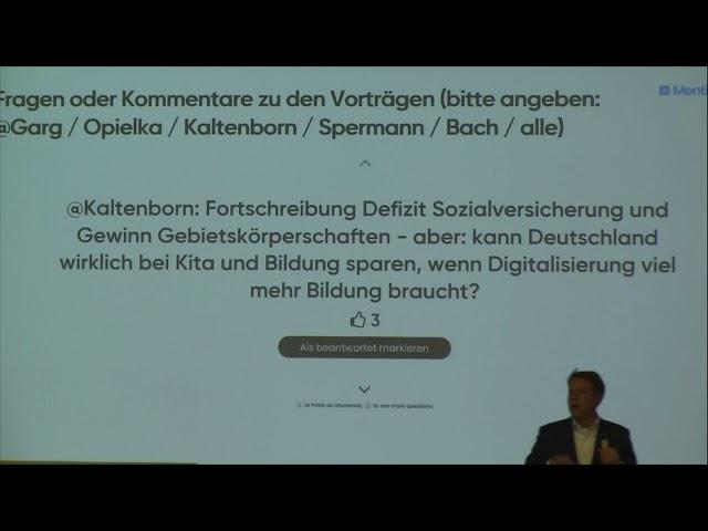 #ZLabSH, Auftakt 2.5.2019 Kiel, 5, Dr. Stefan Bach - Empirisches Wissen zur Zukunft des Sozialstaats