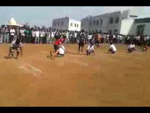 sports in AITRC 2014..(kho kho match between staff And TE ETC ) Travel Video
