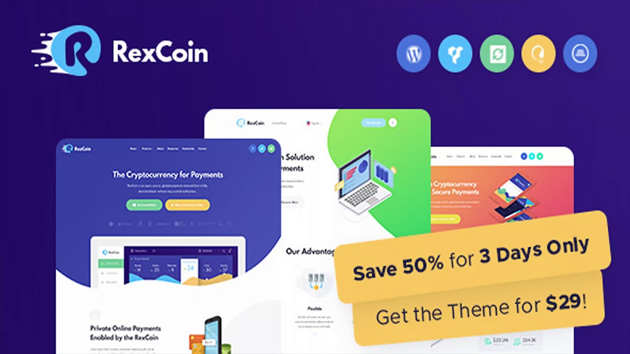 rexcoin a multi purpose cryptocurrency & coin ico