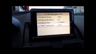 Mercedes Benz W204 camera de recule +  menu caché