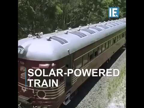 Solar trains are coming to our railways - SAVEATRAIN.COM 🌌☀️🚅