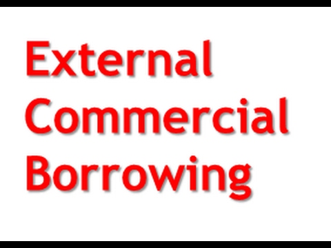 External Commercial Borrowing   (ECB)