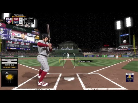 Money Millz - career ALCS Boston Red Sox vs Detroit Tigers (MLB The Show 17 Gameplay Livestream)