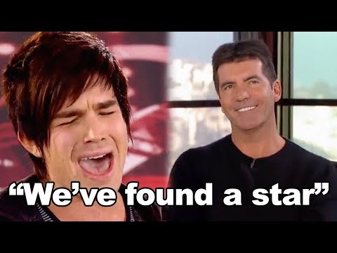 BEFORE THEY WERE FAMOUS: Adam Lambert Auditions For American Idol!