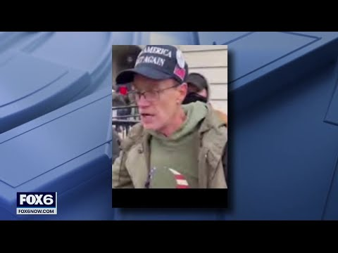 Eau Claire man arrested after taking part in Capitol riot | FOX6 News Milwaukee