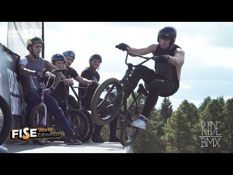 BMX bike video – FISE Edmonton: 3 Minutes of BANGS
