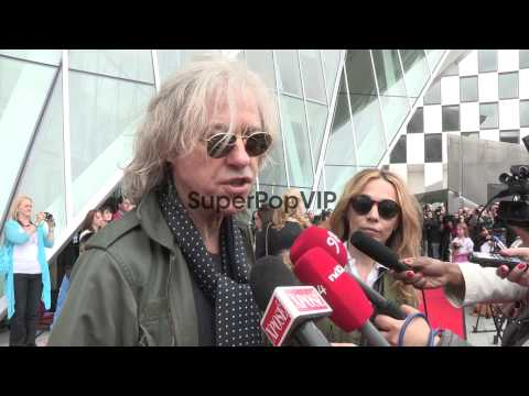 INTERVIEW: Bob Geldof on Aung San Suu Kyi  at Aung San Su...