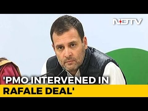 "Rahul Gandhi On Rafale Deal: ""Clear that PM Modi Carried Out Parallel Negotiations"""