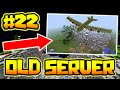 TNT BOMBER PLANE OVER SPAWN OLDEST SERVER IN MINECRAFT 22