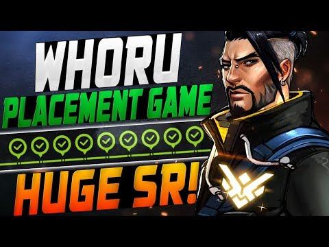 WHORU PRO HANZO! PLACEMENT GAME! [ OVERWATCH SEASON 11 TOP 500 ] thumbnail