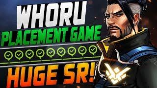WHORU PRO HANZO! PLACEMENT GAME! [ OVERWATCH SEASON 12 TOP 500 ]