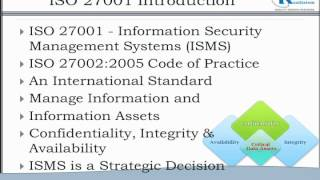 ISO 27001; Lead Implementer Training