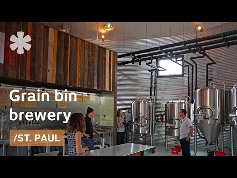 MN couple turns grain silo into urban brewery, store & venue