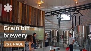 MN couple turns grain silo into urban brewery, store & venue