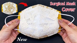 New Diy Easy Surgical Mask Cover Sewing Tutorial How to Make Medical Mask Cover More Protection
