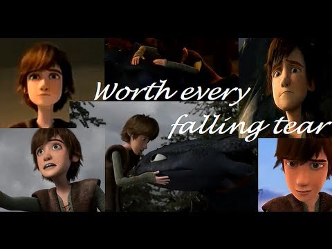 """Hiccup to Toothless ~ """"Worth Every Falling Tear"""""""
