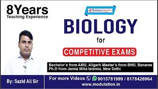 General Science Lecture for RRB-JE | Life Science | RRB JE Syllabus | Modulation Instt | 9015781999