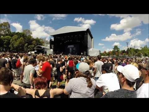 Asking Alexandria Full Set Live - Sydney Soundwave 2014