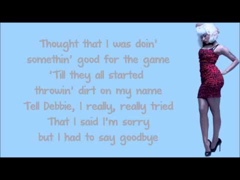 Nicki Minaj - Can Anybody Hear Me Lyrics Video