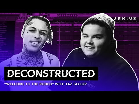 """The Making Of Lil Skies' """"Welcome To The Rodeo"""" With Taz Taylor 