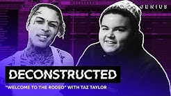 "The Making Of Lil Skies' ""Welcome To The Rodeo"" With Taz Taylor 