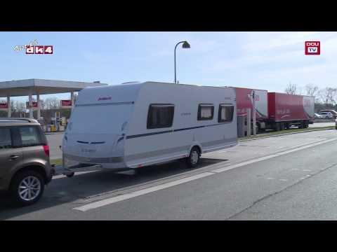 Sådan vejer politiet din campingvogn - tips fra Dansk Camping Union