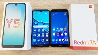 Huawei y5 2019 vs Xiaomi Redmi 7a - что Выбрать? Сравнение! Смартфон Хуавей какой Выбрать