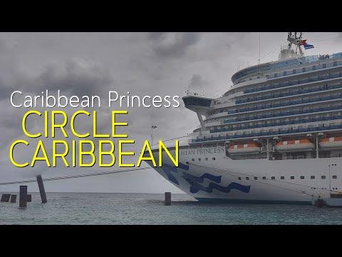 CARIBBEAN PRINCESS Circle Caribbean Cruise 2017/18