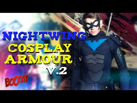 Nightwing V.2 Cosplay Armour | REVIEW