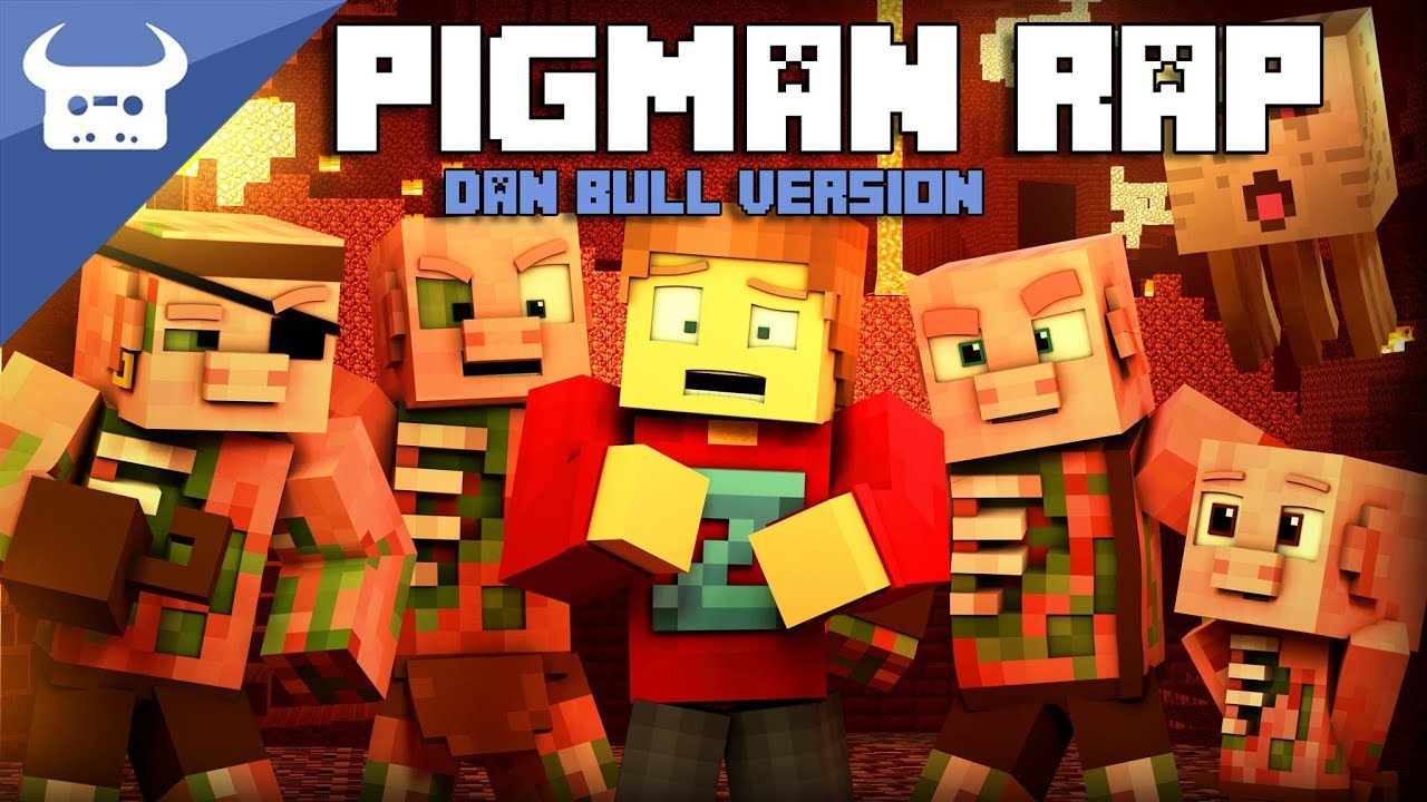MINECRAFT NETHER ZOMBIE PIGMAN RAP | Dan Bull