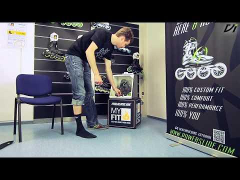 Powerslide Vi Myfit Thermo-Anpassung - Wie heatmolde ich meinen Skate? | Deutsche Version