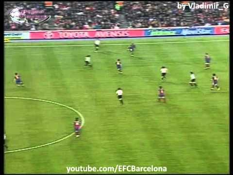 Barcelona -  Athletic Bilbao 2004-2005, highlights, skills