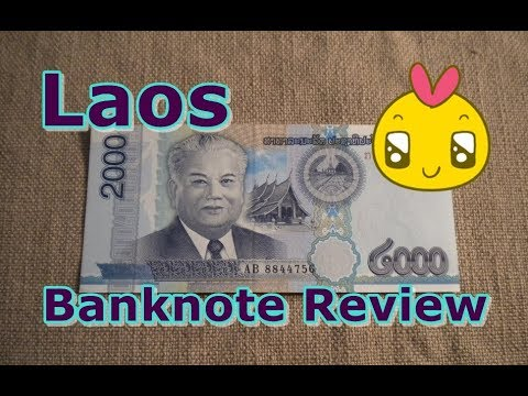Laos 2000 Kip Banknote 2011 Series
