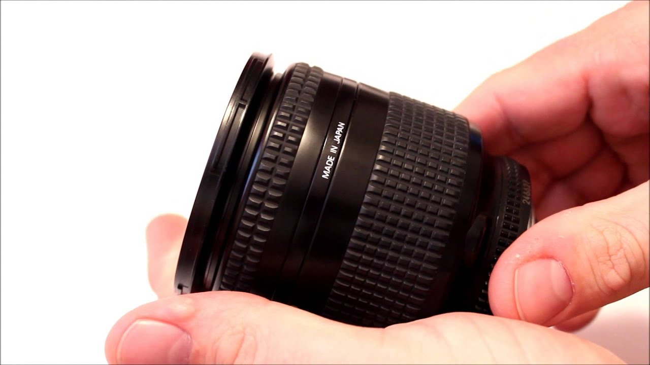 NIKON NIKKOR 28-200mm F:3.5-5.6 AF-D Great FX FULL FRAME LENS - YouTube