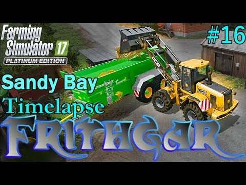 FS17 Timelapse, Sandy Bay #16: Potatoes And Manure!