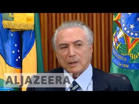 Who is Brazil's new president Michel Temer?