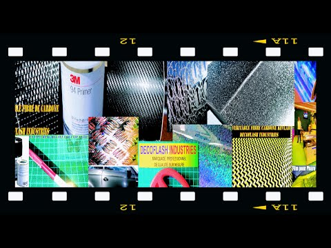 Rouleau de film adhésif vinyl thermoformable covering décoration auto moto intérieur extèrieur