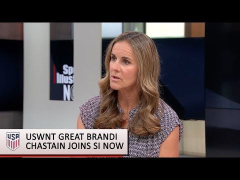 Brandi Chastain discusses the state of U.S. Women's Soccer